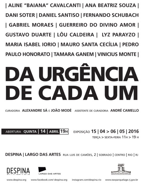 Expo Largo das Artes 2016